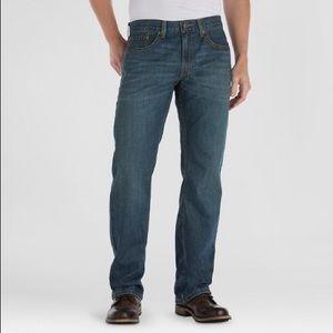 LEVIS denizen 285 relaxed fit jeans